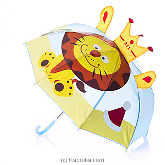 King Lion Kids Umbrella Online at Kapruka | Product# childrenP0262
