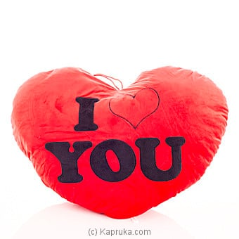 I Love You Cuddle Pillow Online at Kapruka   Product# softtoy00436