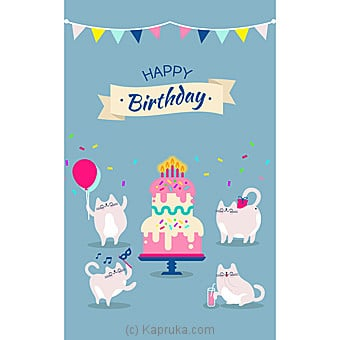 Birthday Greeting Card Online at Kapruka | Product# greeting00Z1364