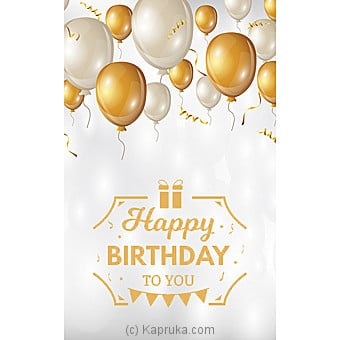 Birthday Greeting Card Online at Kapruka | Product# greeting00Z1371