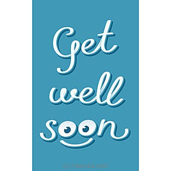 Get Well Soon Card Online at Kapruka | Product# greeting00Z1395