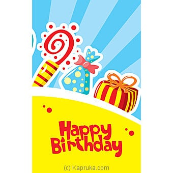 Birthday Greeting Card Online at Kapruka   Product# greeting00Z1396