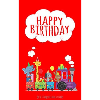 Birthday Greeting Card Online at Kapruka | Product# greeting00Z1397