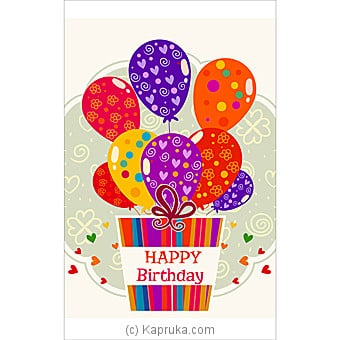 Birthday Greeting Card Online at Kapruka | Product# greeting00Z1401