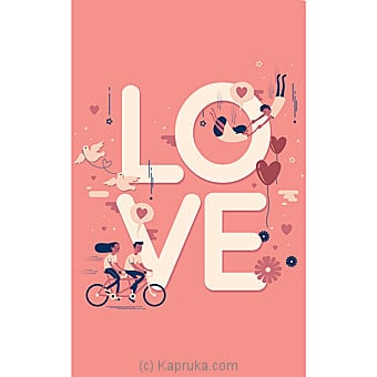 Romance Greeting Cards Online at Kapruka | Product# greeting00Z1393