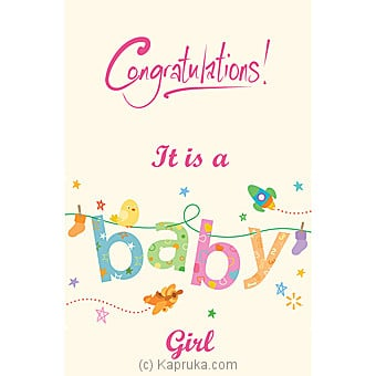 New Born Greeting Card Online at Kapruka | Product# greeting00Z1378