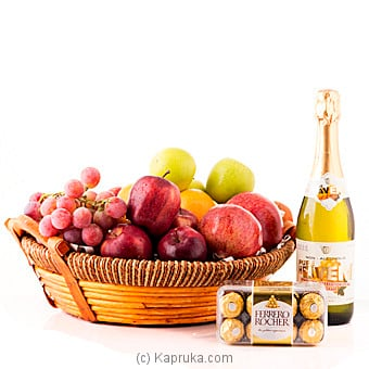 Season Celebration Fruit And Goodies at Kapruka Online for specialGifts
