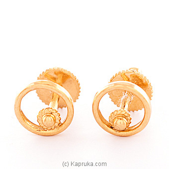 22K Gold Ear Stud Set Online at Kapruka | Product# vouge00309