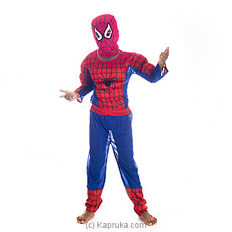 Toddler Spider Man Muscle Chest Costume - Medium Online at Kapruka | Product# clothing0333_TC1