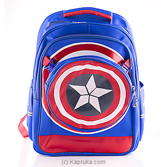 Captain America Blue Bag Online at Kapruka | Product# childrenP0286