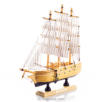 Wooden Sailing Craft at Kapruka Online for specialGifts