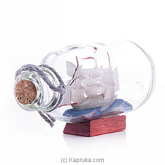 Ship In Bottle Table Ornament Online at Kapruka | Product# ornaments00470