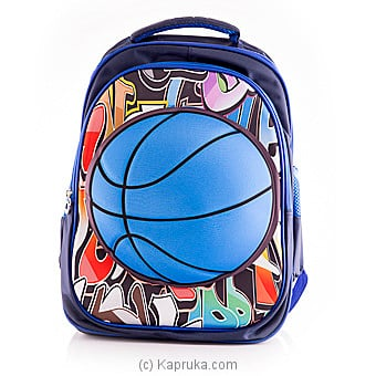 Basketball Blue Backpack Online at Kapruka | Product# childrenP0295