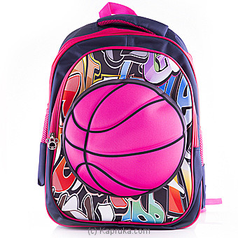 Basketball Pink Backpack at Kapruka Online for specialGifts