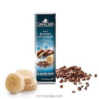Cavalier Milk Banana Sugar Free Chocolate - 40g Online at Kapruka | Product# chocolates00568