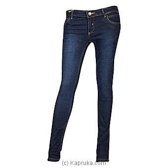 LICC Ladie`s Dark Blue Skinny Fit Jeans at Kapruka Online for specialGifts