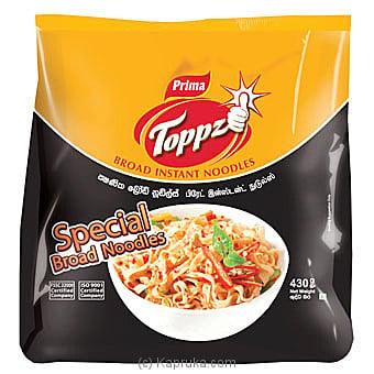 Prima Toppz Broad Instant Noodles 430g Online at Kapruka | Product# grocery00805