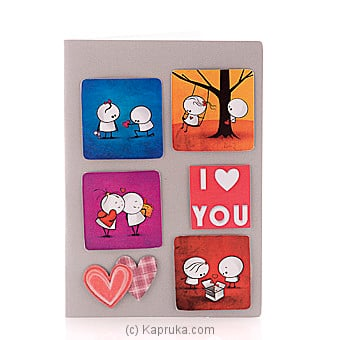 `I Love You `handmade Greeting Card Online at Kapruka | Product# greeting00Z1463