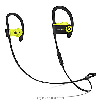 Powerbeats3 Wireless Earphones - Shock Yellow Online at Kapruka | Product# elec00A1119