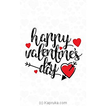Valentine Greeting Card Online at Kapruka | Product# greeting00Z1453