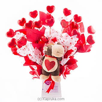 Teddy Hearts Online at Kapruka | Product# chocolates00579