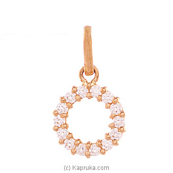 Vogue 22k gold pendant set with 14(c/Z) rounds Online at Kapruka | Product# vouge00317