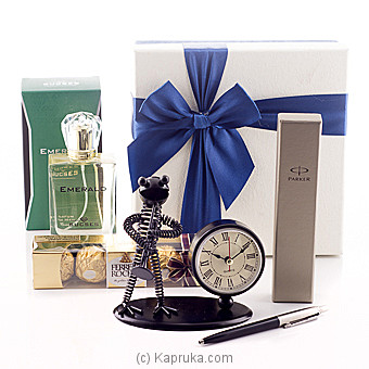 Gift For My Handsome On Valentine Online at Kapruka | Product# giftset00131