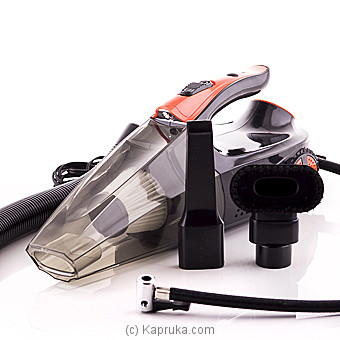 Multifunctional Car Vacum Cleaner With Compressor Online at Kapruka | Product# elec00A1125