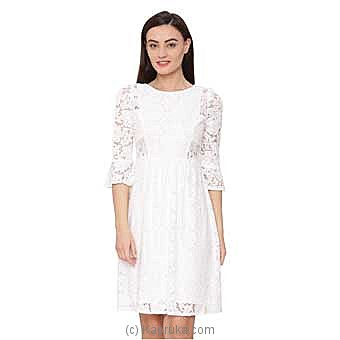 Avirate Nimes Bell Charm Lace Dress-US at Kapruka Online for specialGifts