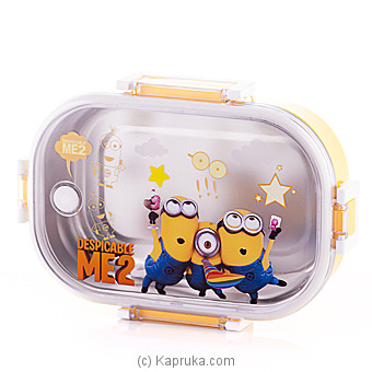Minions Stainless Stell Lunch Box Online at Kapruka | Product# childrenP0311