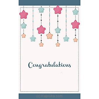 Congratulations Greeting Card Online at Kapruka | Product# greeting00Z1483