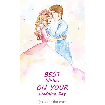 Wedding Greeting Card Online at Kapruka | Product# greeting00Z1499