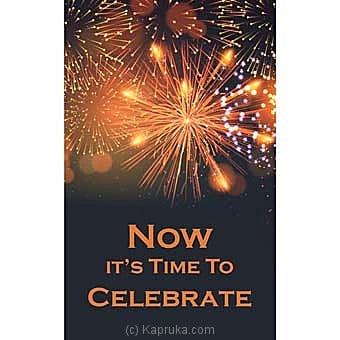 Congratulations Greeting Card Online at Kapruka | Product# greeting00Z1516