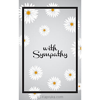 Sympathy Cards Online at Kapruka | Product# greeting00Z1518