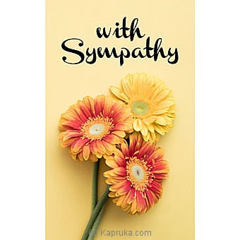 Sympathy Cards Online at Kapruka | Product# greeting00Z1522
