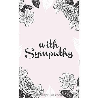 Sympathy Cards Online at Kapruka | Product# greeting00Z1521