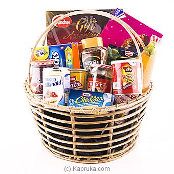 Tasty Treats Hamper Online at Kapruka | Product# cphamper0137