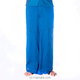 Blue Handloom Sarong Online at Kapruka | Product# clothing0418