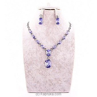 Crystal Jewelry Set (necklace And Earrings) Online at Kapruka | Product# jewllery00SK550