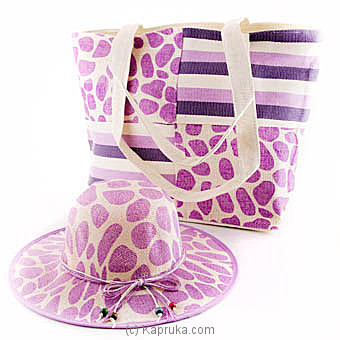 Summer Time Bag With Hat Online at Kapruka | Product# fashion00674