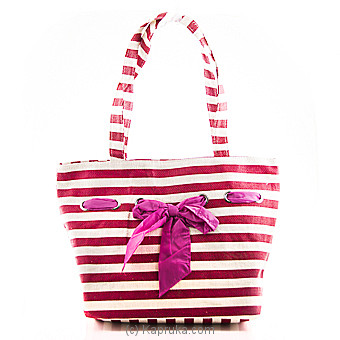 Summer Time Red Stripe Bag Online at Kapruka | Product# fashion00716