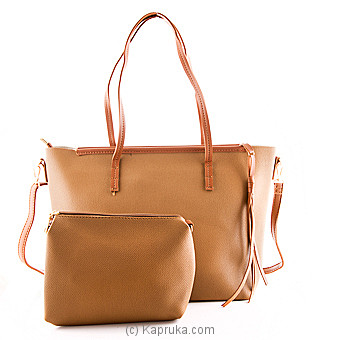 Trendy Brown Ladies Hand Bag Online at Kapruka | Product# fashion00683