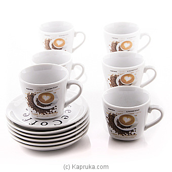 Cappuccino Coffee Cup Set Online at Kapruka | Product# household00268