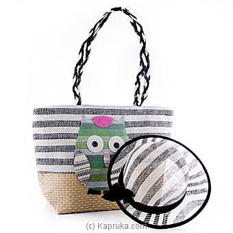 Colorful Owl Designs Bag With Hat Online at Kapruka | Product# fashion00719