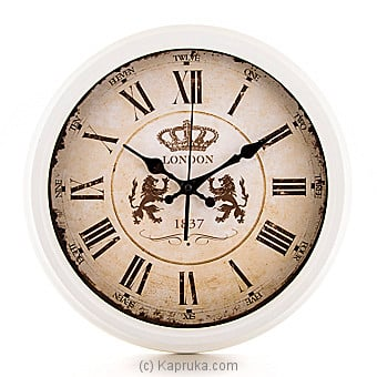 Vintage London Wall Clock Online at Kapruka | Product# ornaments00514