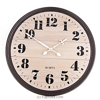Classic Large Wall Clock Online at Kapruka | Product# ornaments00517