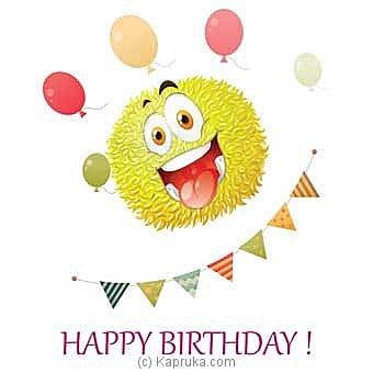 Birthday Greeting Card Online at Kapruka | Product# greeting00Z1543