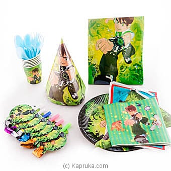 Ben10 Kids Party Pack Online at Kapruka | Product# partyP00113