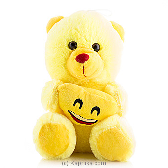 Cuddly Teddy With Smiling Face Emoji Online at Kapruka | Product# softtoy00471