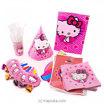 Hello Kitty Kids Party Pack Online at Kapruka | Product# partyP00119